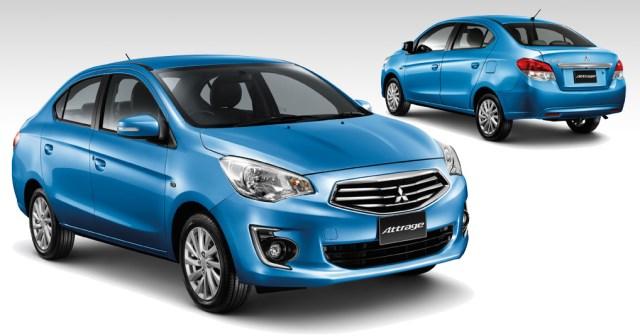 Новый бюджетный седан Mitsubishi Attrage