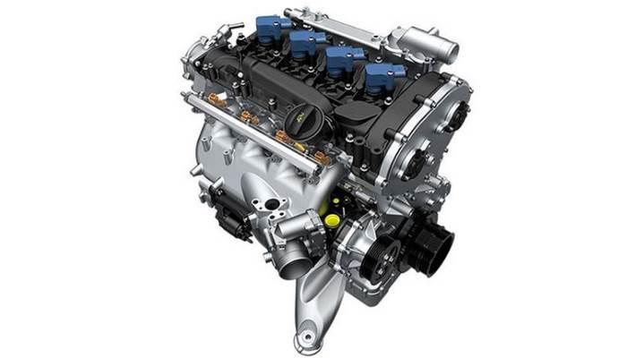 Новый российский двигатель 245 л.с. объемом 2.2 литра с турбонаддувом L4 проект ЕМП