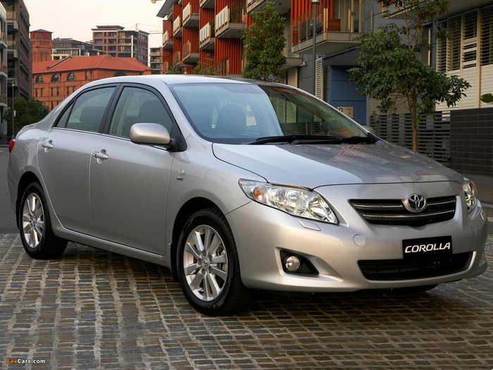 Где собирают Тойоту Короллу, особенности производства Toyota Corolla