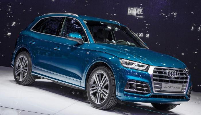 Новый Audi SQ5 с турбодизелем оказался самым мощным