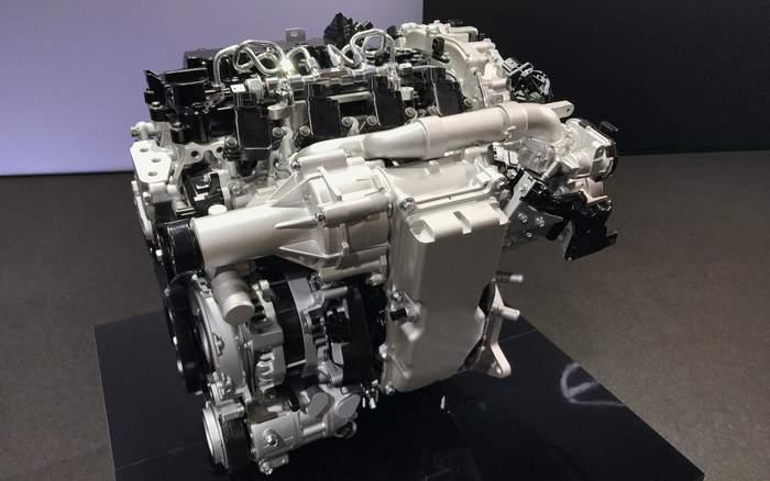 Новый двигатель Mazda Skyactiv-X