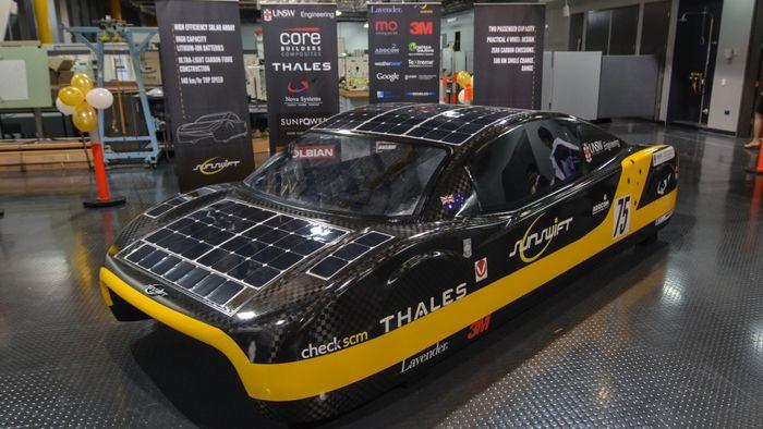 автомобили на солнечных батареях