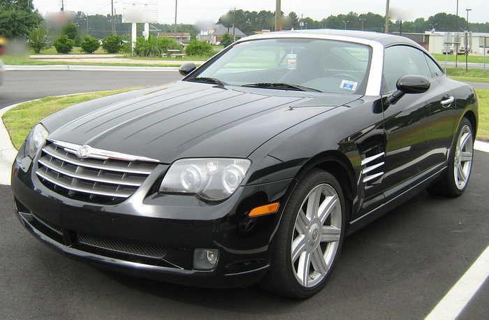 Chrysler Crossfire европейский автомобиль в американском стиле Chrysler