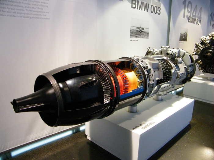 реактивный двигатель БМВ 109-003