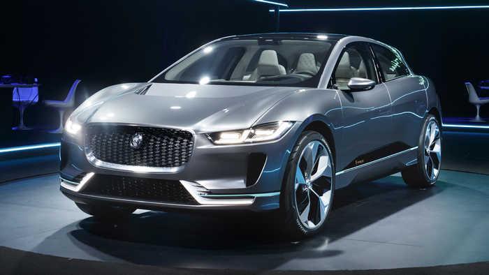 Jaguar I-Pace – электрический премиум кар