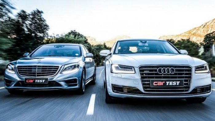 Audi A8 против Mercedes S-Class
