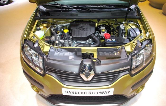Renault Sandero Stepway двигатели