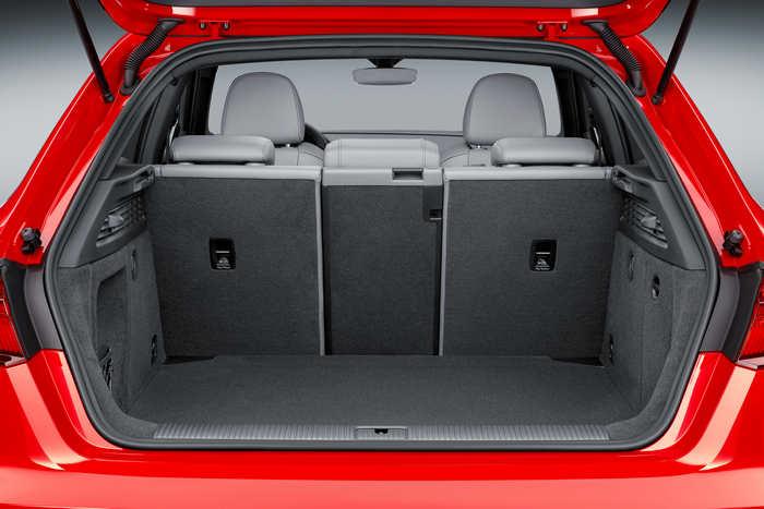 AUDI A3 SPORTBACK багажное отделение