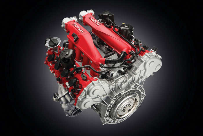 Ferrari Бензиновый двигатель V8