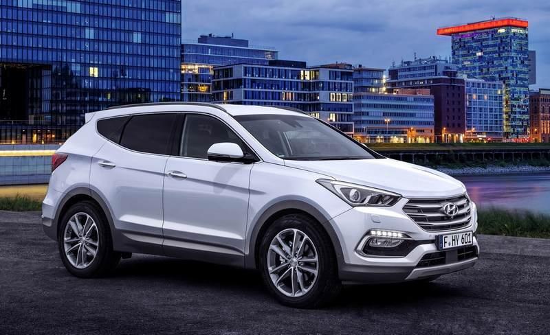 Подержанный Hyundai Santa Fe
