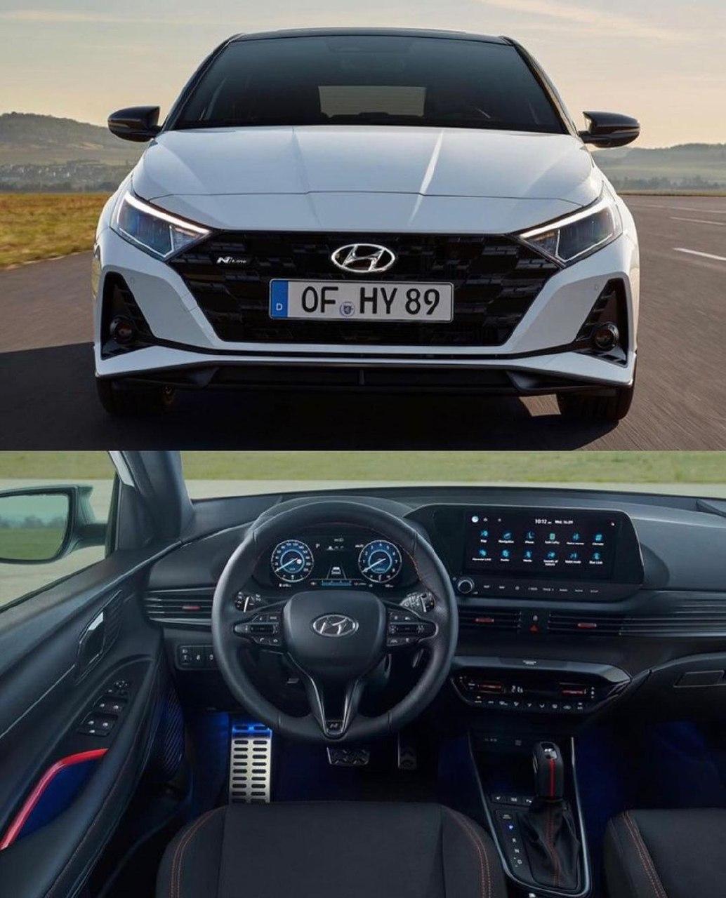 Новый Hyundai i20 N Line