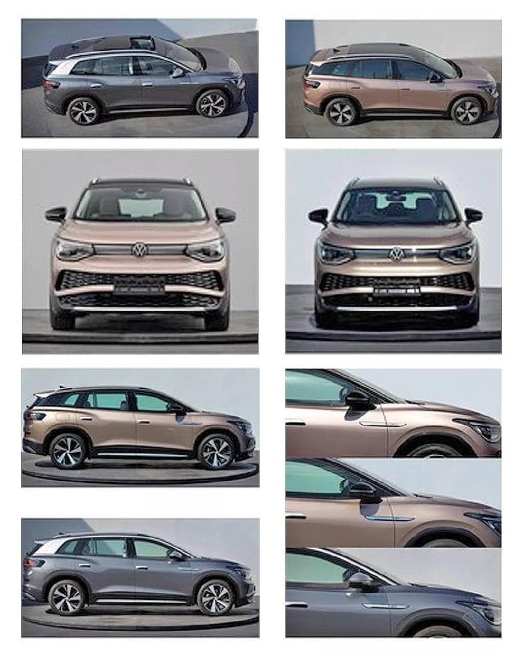 Шпионерия VW ID6
