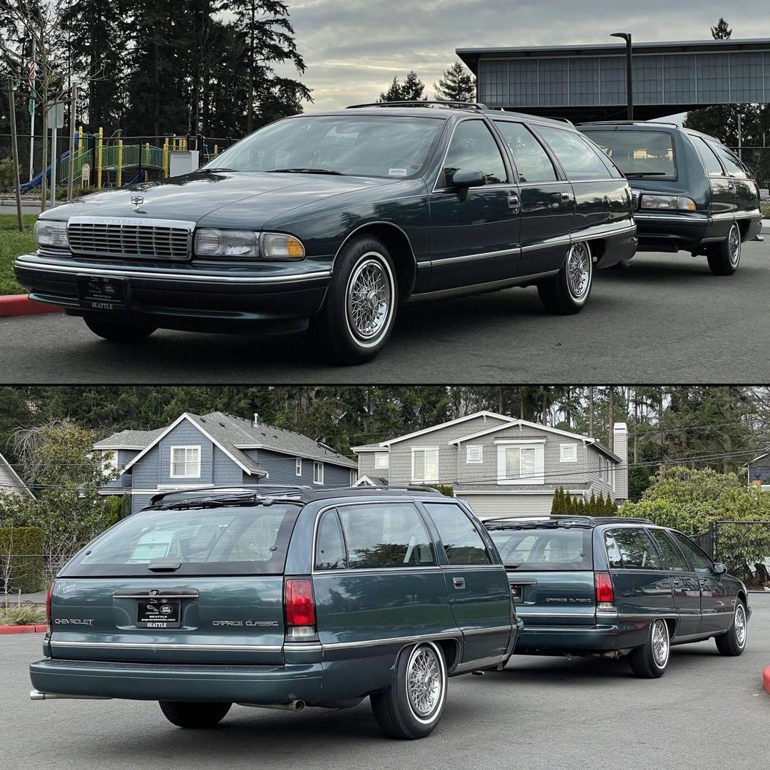 Chevrolet Caprice Classic wagon 1993