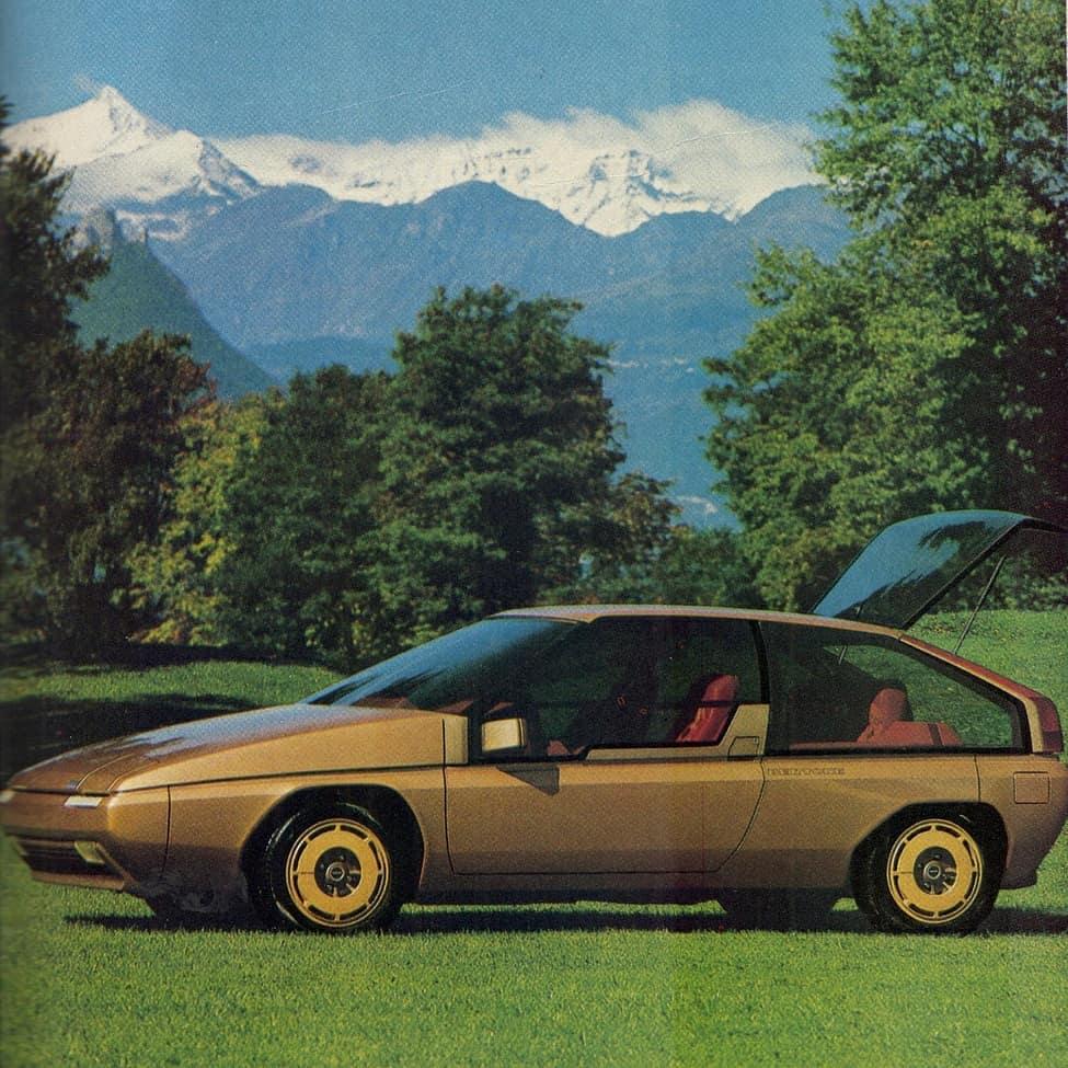 Mazda MX-81Aria by Bertone 1981