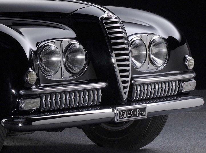 Alfa Romeo 2500 SS by Pininfarina 1949
