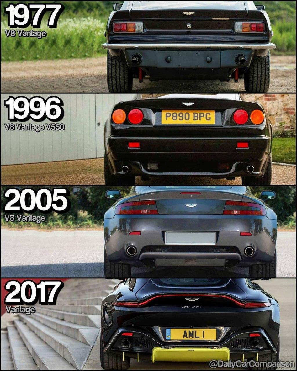 Эволюция V8 Vantage 🇬🇧