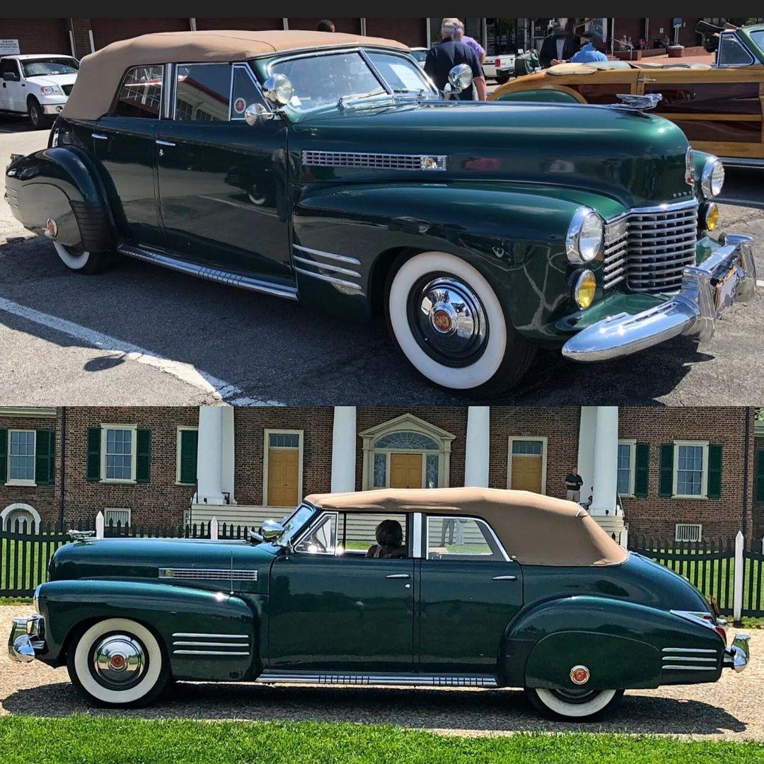 1941 Cadillac Series 62 Convertible Sedan