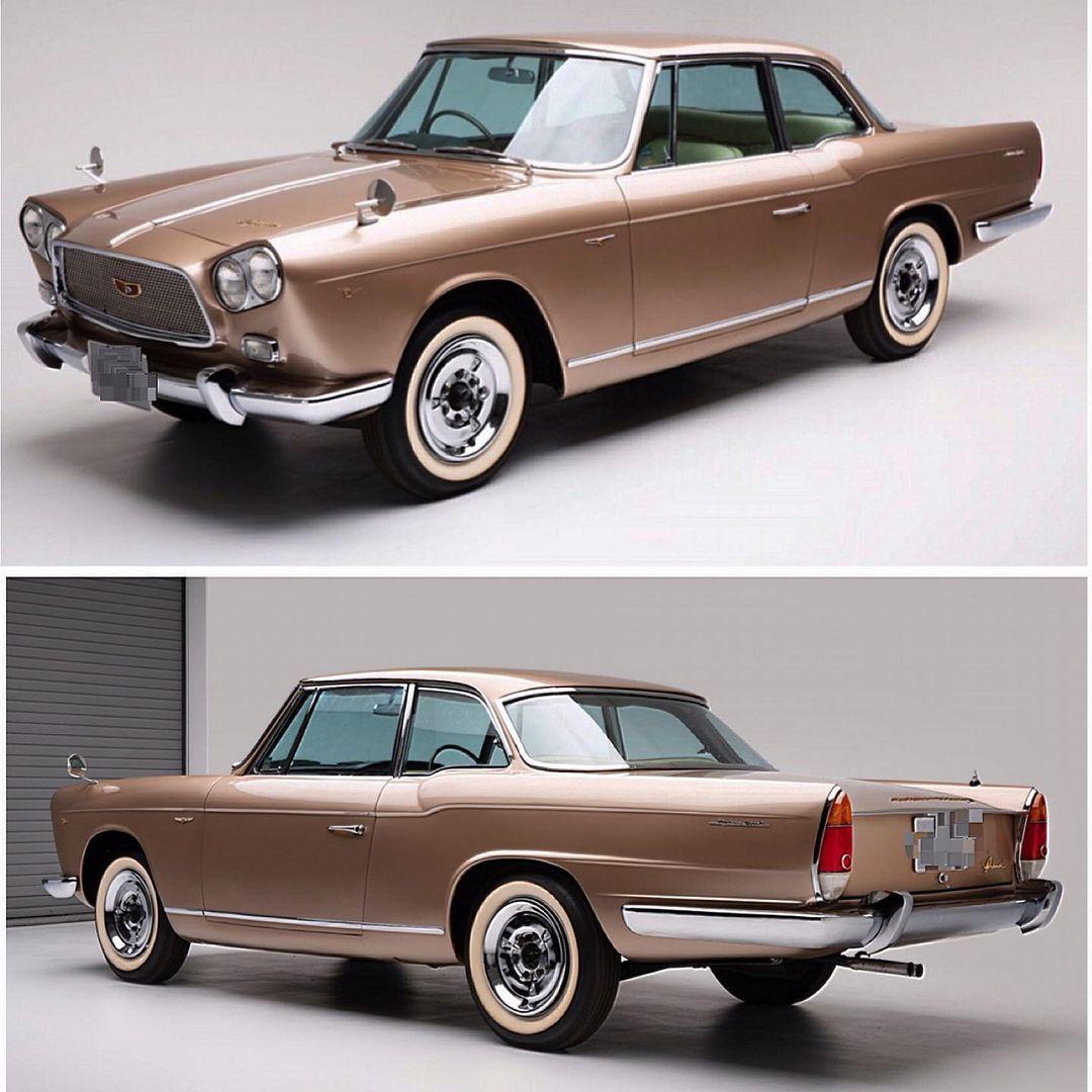 1962 Nissan Skyline Sport coupe