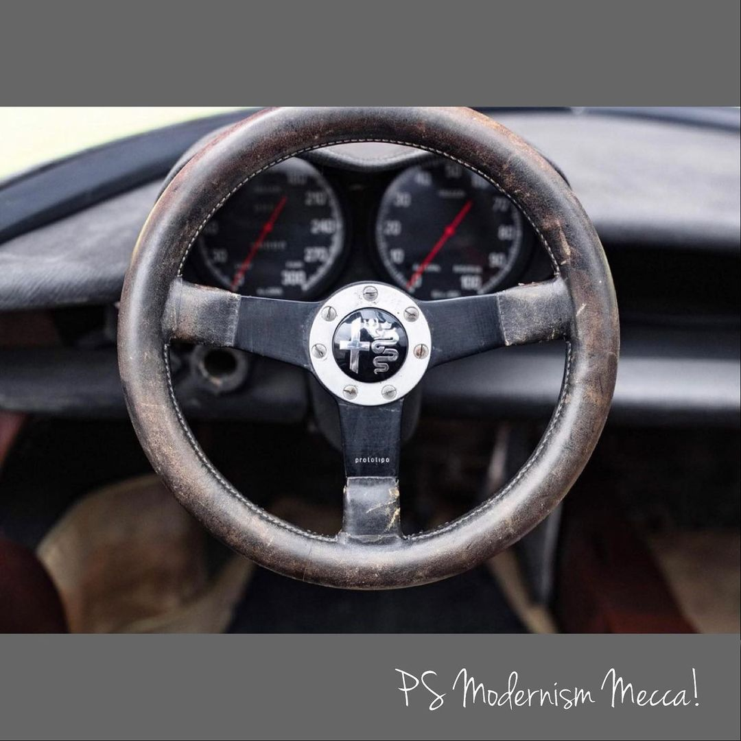1969 Alfa Romeo 33 Stradale Special Prototype by Pininfarina