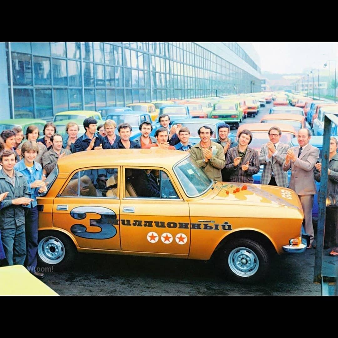 Юбилейные автомобили советских автозаводов