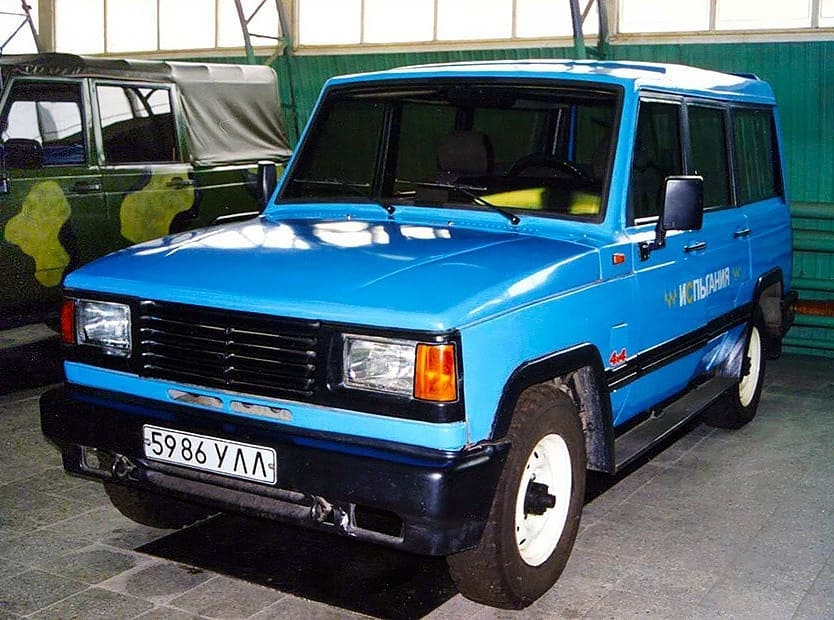 Экспepиментальный УАЗ-3172 1992 г
