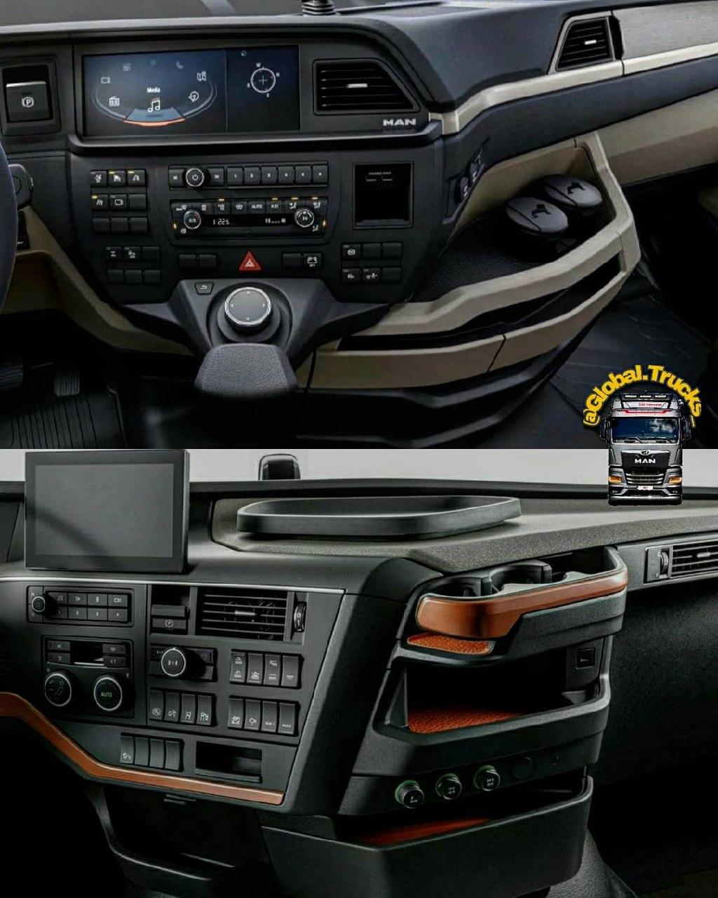 New MAN TGX 510 & Volvo FH 500