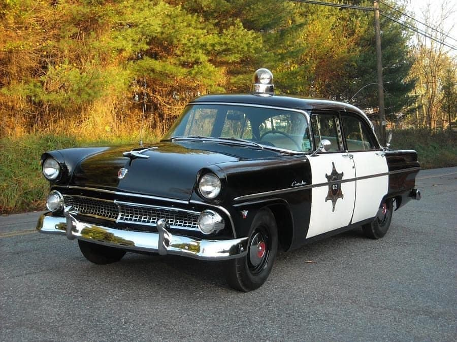 Ford Customline 4-Door Sedan Police 1955 года