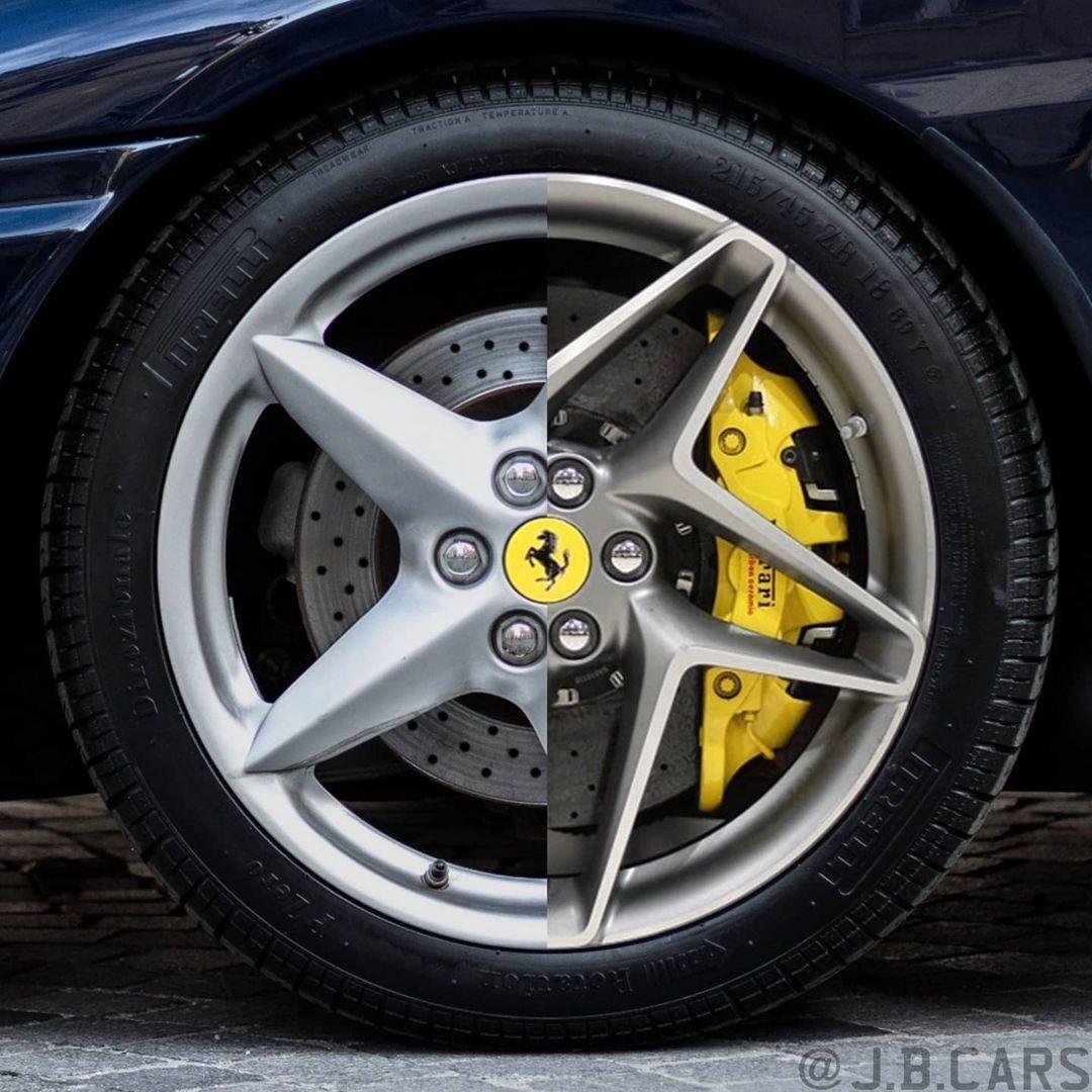 Old vs New wheel design