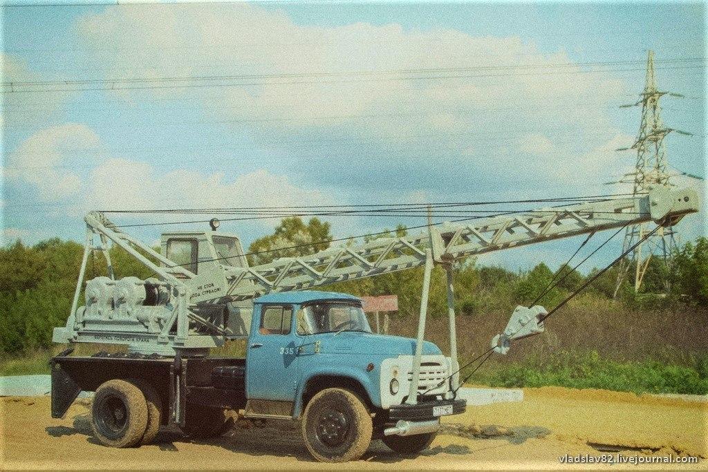 Автокран АК-75В на базе ЗиЛ-130