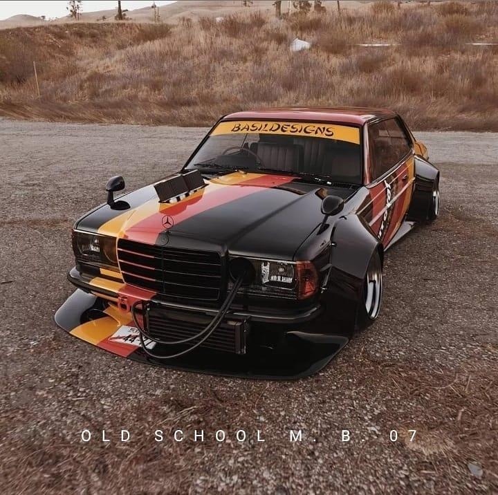Mercedes-Benz W123 Сobra