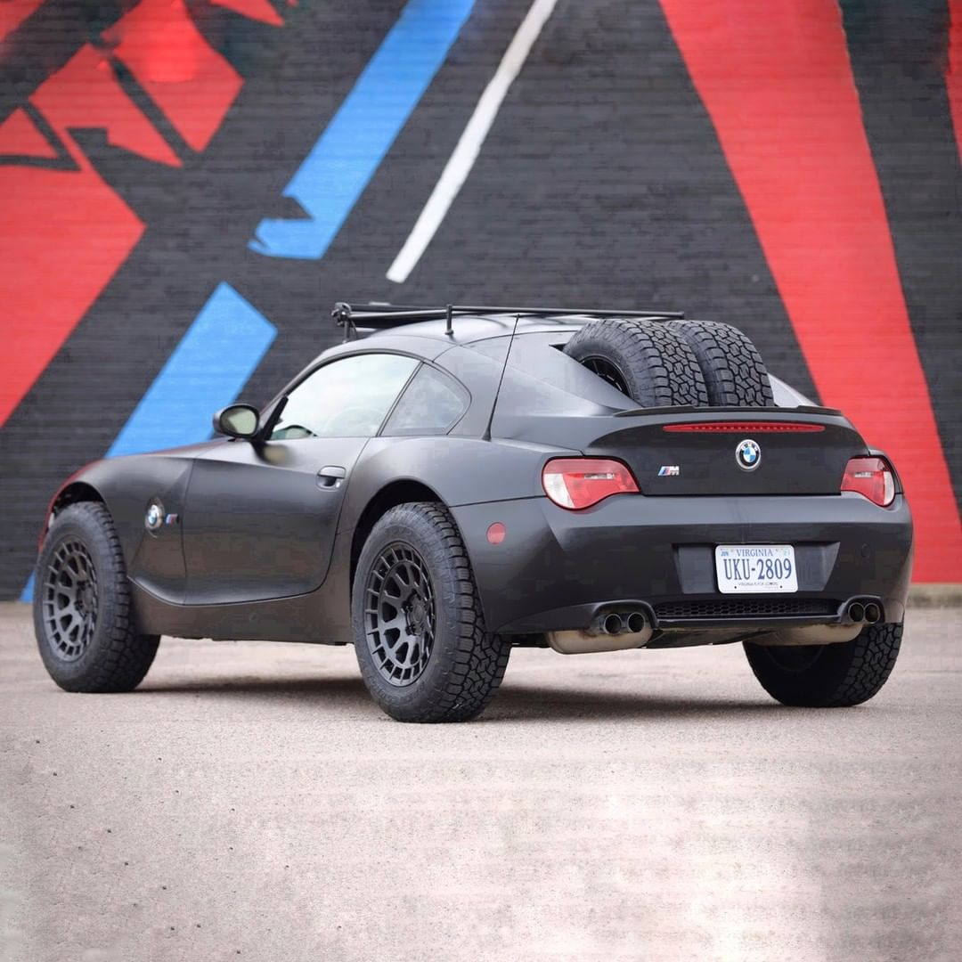 Offroad BMW Z4M built by Max Fischer for hagerty