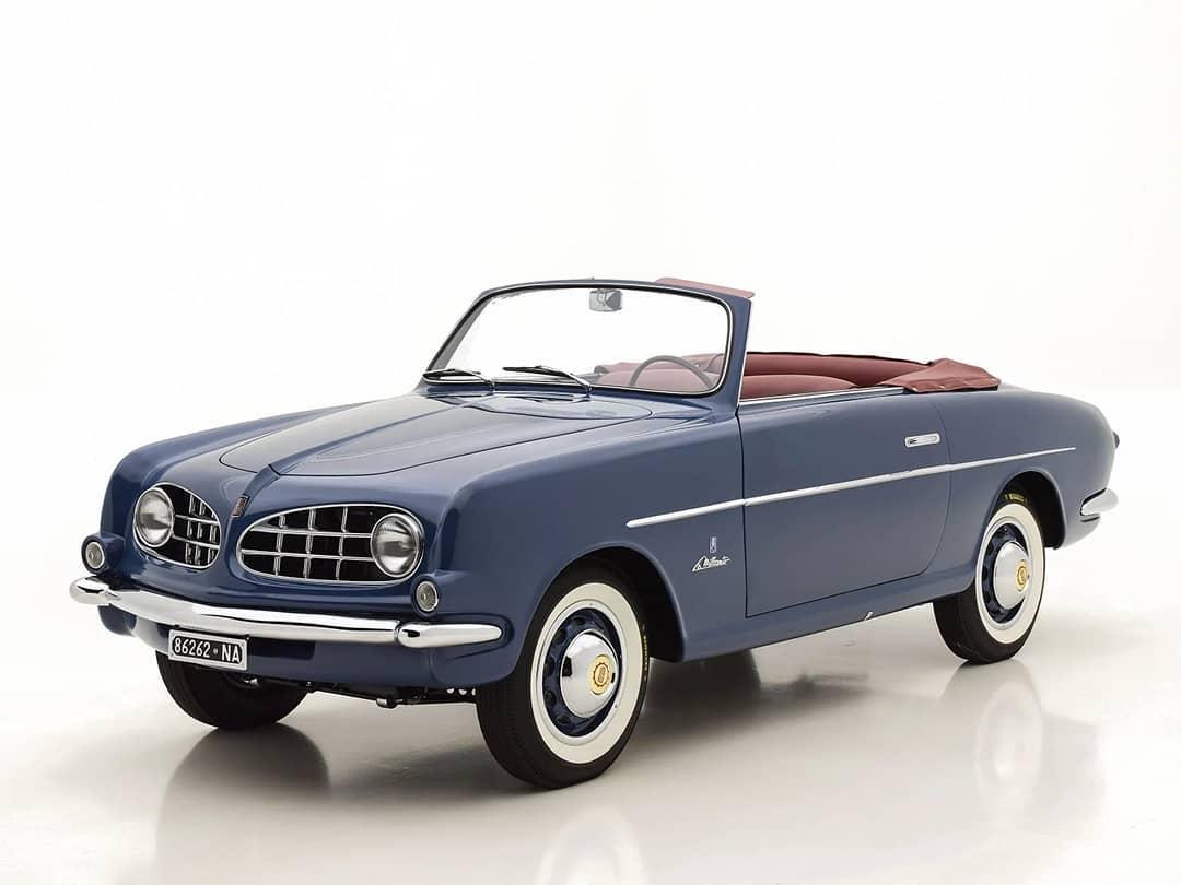 1953 FIAT 1100 ALLEMANO CABRIOLET