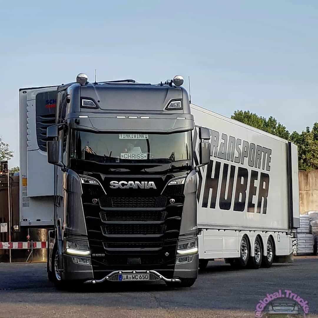Scania S650 - V8 engine