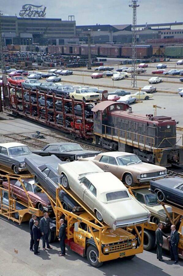 Завод Форд, конец 1960-х годов