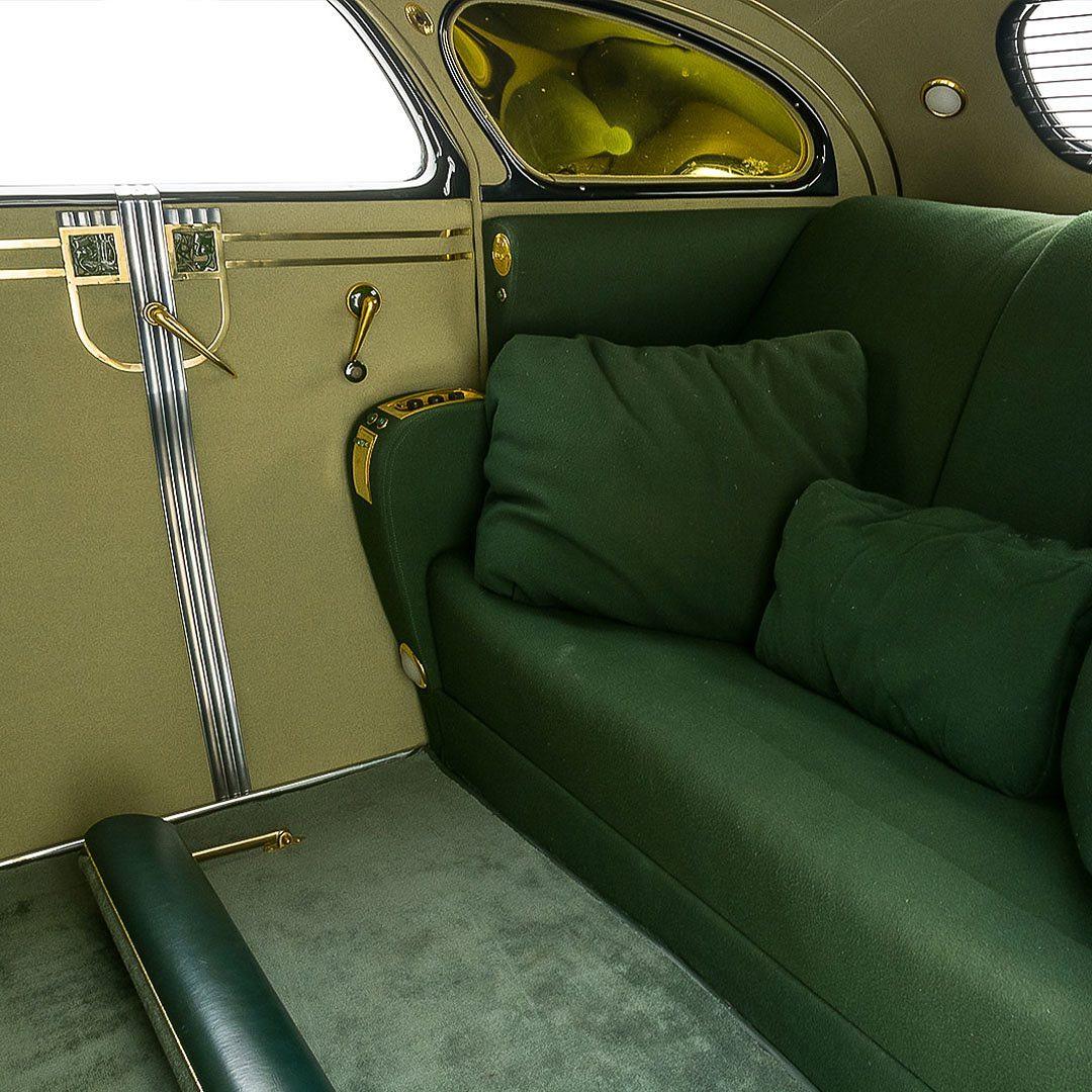 1937 Chrysler Airflow ex-Major Bowes, Admiral Nimitz