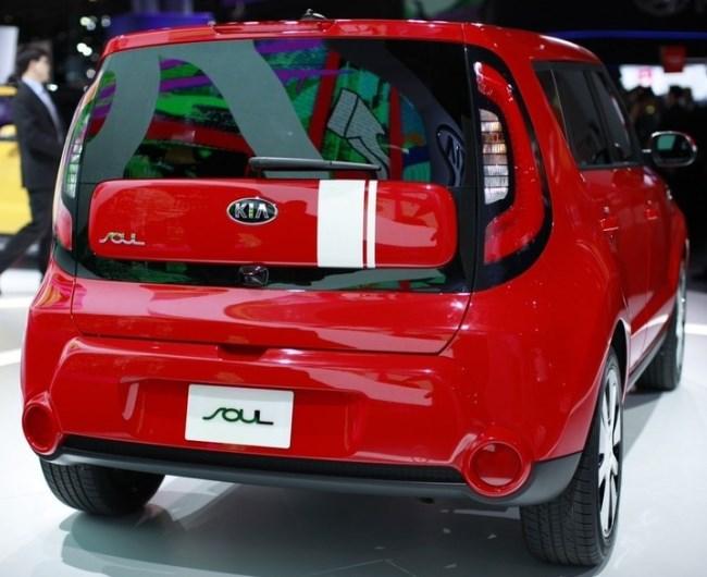 Новый KIA Soul - фото автомобиля КИА Соул в