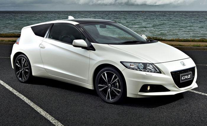 Honda CR-Z - обновление гибридного купе ЦРЗ от Хонды