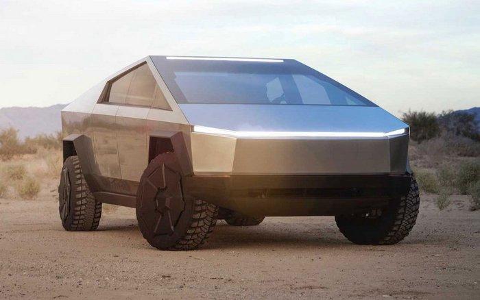 Электрический пикап Илона Маска Tesla Cybertruck